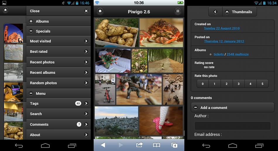 http://piwigo.org/screenshots/piwigo-2.6-mobile-new-features.png