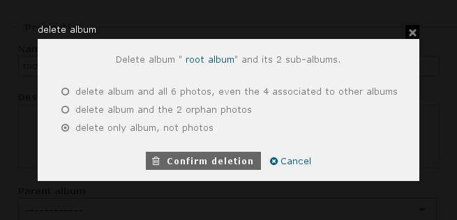http://piwigo.org/screenshots/piwigo-2.9-album-deletion-options.png