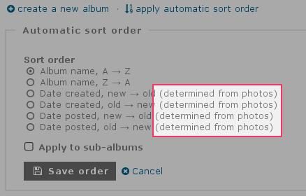 http://piwigo.org/screenshots/piwigo-2.9-albums-sorted-by-photo-dates.png